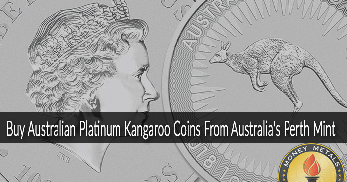 Australian 1 Oz Platinum Kangaroo Coins from Money Metals Exchange