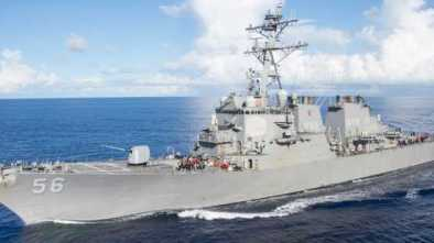 10 Missing, 5 Injured After USS John S. McCain Collides With Oil Tanker