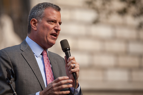 Bill de Blasio photo