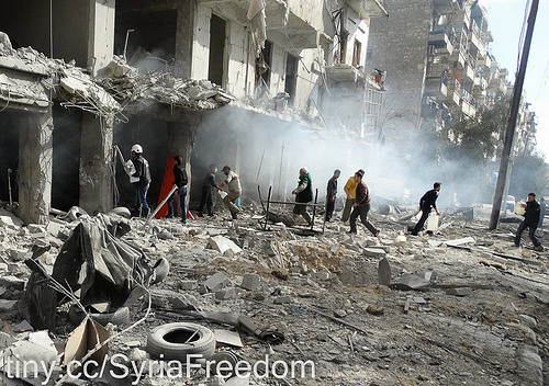 Aleppo war photo