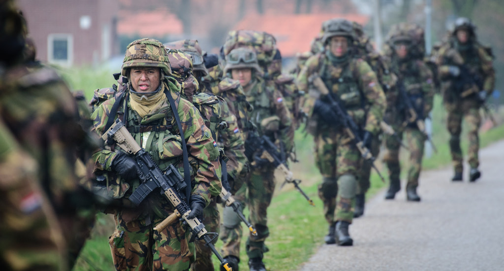 military maneuvers photo