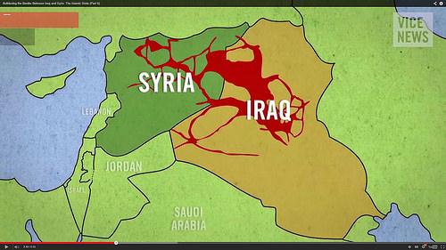 Syria map photo