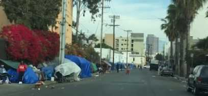 20,000 Homeless People Live on the Streets in L.A.