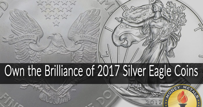 2017 Silver Eagles from Money Metals Exchange