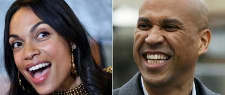 2020 Presidential Hopeful Cory Booker Dating Hollywood Radical Activist