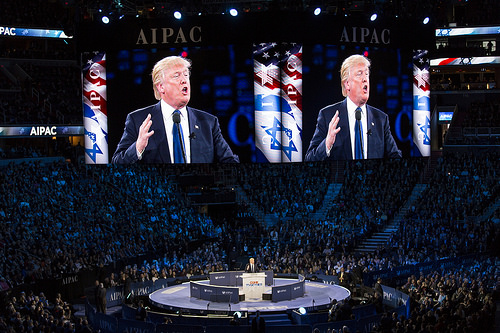Trump Israel photo