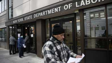 3.3 Million Seek US Jobless Aid, Nearly 5 Times Earlier High