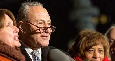 Schumer Threatens Gov't Shutdown Over Funding Border Wall He Previously Supported