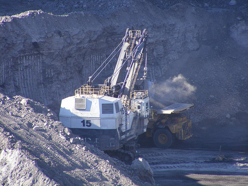 coal mining photo