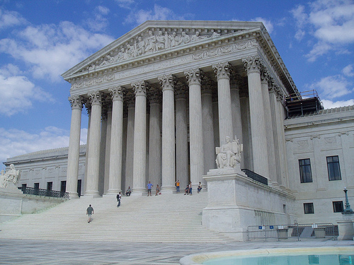 Supreme Court building photo