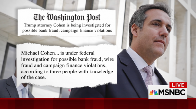 5 Questions From the FBI Raid on Trump's Lawyer Cohen