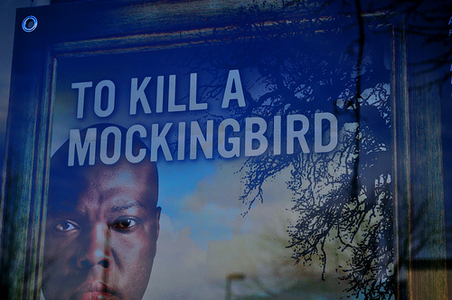 to kill a mockingbird scout cartoon