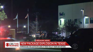 5th Parcel Bomb Explodes En Route to Austin, Likely Serial Bomber