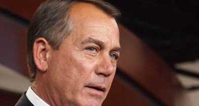 John Boehner Blames Freedom Caucus 'Goofballs' for Gov't Shutdown
