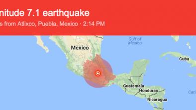 7.1-Magnitude Earthquake Rocks Mexico City