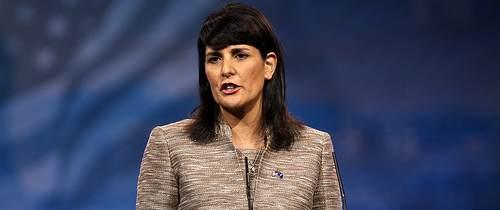 Haley: Iran Feeling the Pain of Nuke Sanctions