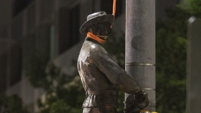 NC Gov. Roy Cooper Rewards Vandals By Removing More Statues From Raleigh