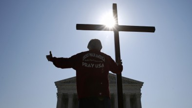 Double win at Supreme Court elates religious conservatives