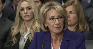 DeVos: 'There Isn't Really Any Common Core Anymore' in Schools