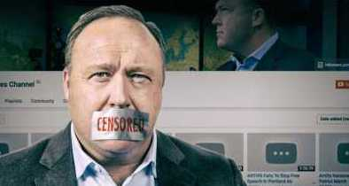 ACLU Defends Alex Jones Against Bans, Censorship