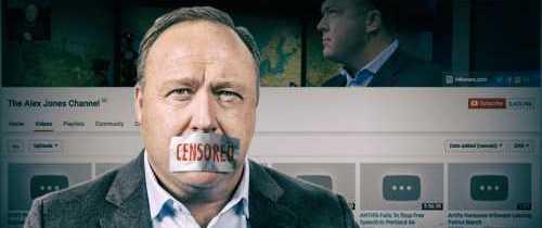 ACLU Defends Alex Jones Against Bans, Censorship
