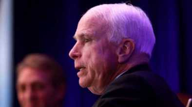 AGAIN! McCain Opposes Trump, This Time on Trade
