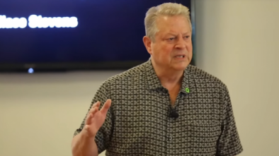 Al Gore Salutes New Jersey for Mandating Climate Change for Kindergarteners
