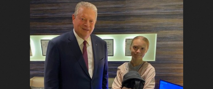 Al Gore Says Climate Change is '9/11' as Greta Thunberg Calls for 'Panic'