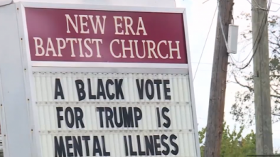 Alabama Pastor Says Black Trump Supporters Are 'Mentally Ill,' White Trump Supporters Are 'Racist'
