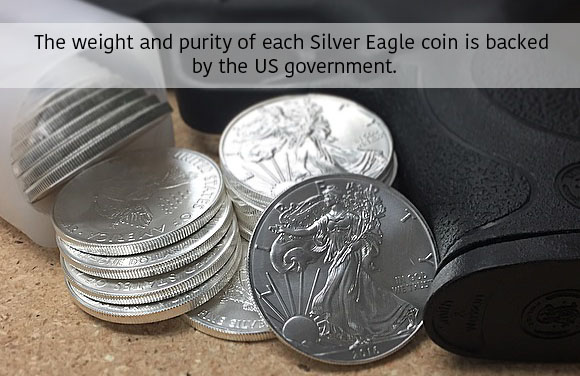 Trust Money Metals Exchange when buying precious metals, like the world's most popular silver coin - the American Silver Eagle
