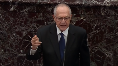 Alan Dershowitz Defends Trump, Says Democrats' Charges Don't Meet High, Constitutional Standard