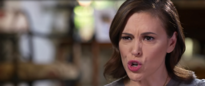 Alyssa Milano Vows to Fight Georgia's Heartbeat Bill, Touts Letter With Celebrity Signatures