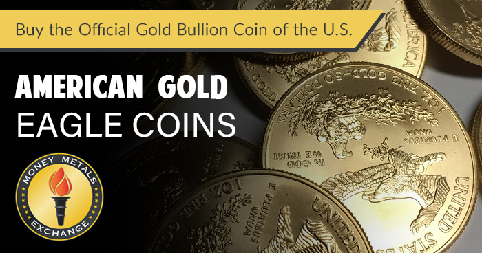 American Gold Eagle Coins from Money Metals Exchange