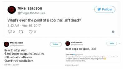 Antifa Professor Called on People to Kill Police; Still Not Fired