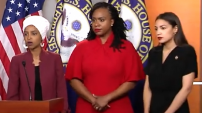 AOC, Omar, Tlaib Won't Be 'Baited' by Trump...as They Take His Bait