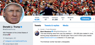APPEALS COURT: Trump Can't Block His Twitter Critics
