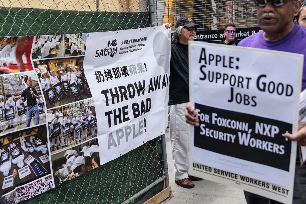 Apple factory China photo