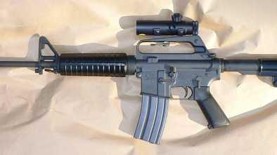 AR-15 Rifles Celebrated at Pennsylvania Church