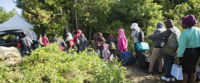 Asylum Claims Triple in Canada Over the Past Two Years
