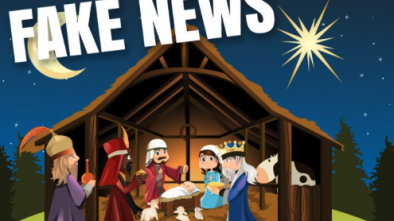 Atheists' Billboards Call Nativity Scene 'Fake News'