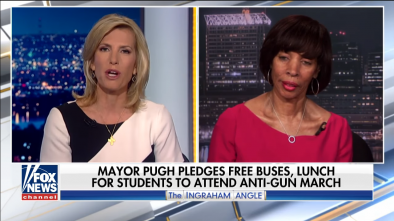 Baltimore Mayor Pledges 60 Buses to Drive Students to Gun Protest