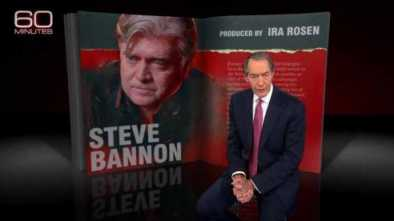 Bannon Declares War on GOP Establishment: Highlights from His 60 Minutes Interview