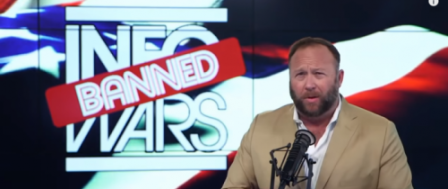 Bans Aren't Lessening Reach of Alex Jones, InfoWars