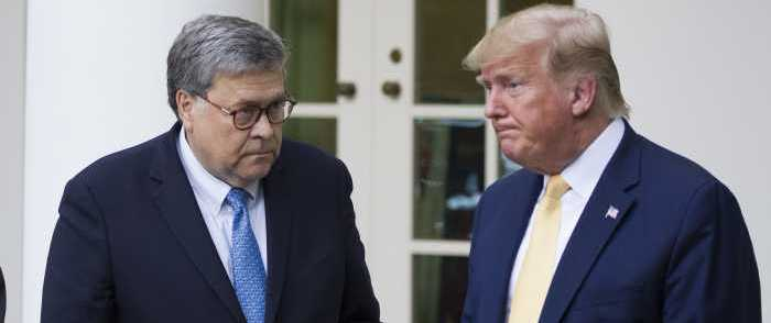 BARR: Trump's Tweets Make It 'Impossible' to Do Job