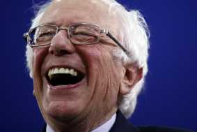 Bernie Edges Buttigieg in NH, Giving Dems 2 Front-Runners