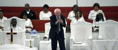 Bernie Sanders: Christian Scriptures Demand 'Justice,' AKA Socialism