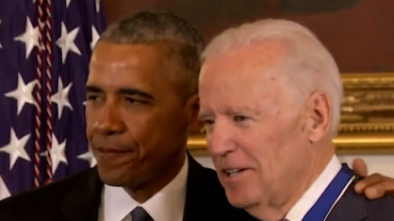 Biden Accused of Using Obama as a Crutch