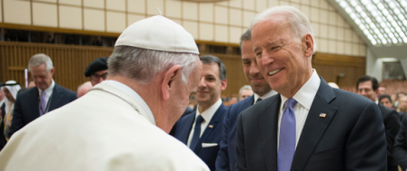 Biden Denied Communion Because He 'Advocates for Abortion'
