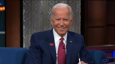 Biden Perpetuates Charlottesville Lie on 'Colbert' Show