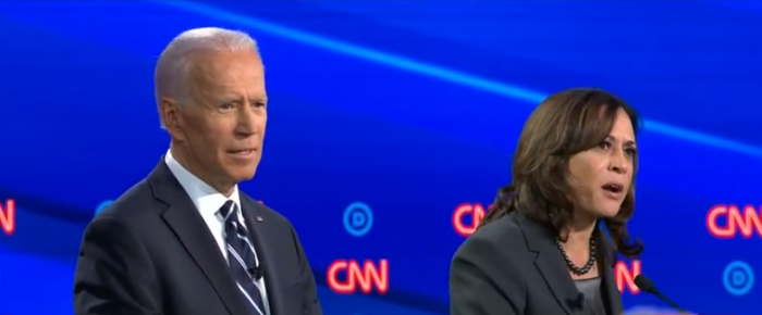 Biden Takes Fire from All Sides in Democratic Debate